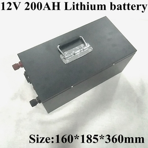 Image 1 - 12V 200Ah Lithium Li Ion Battery Pack Built in BMS for Solar System/electric Boat/energy Storage System/RV/solar Panel+charge