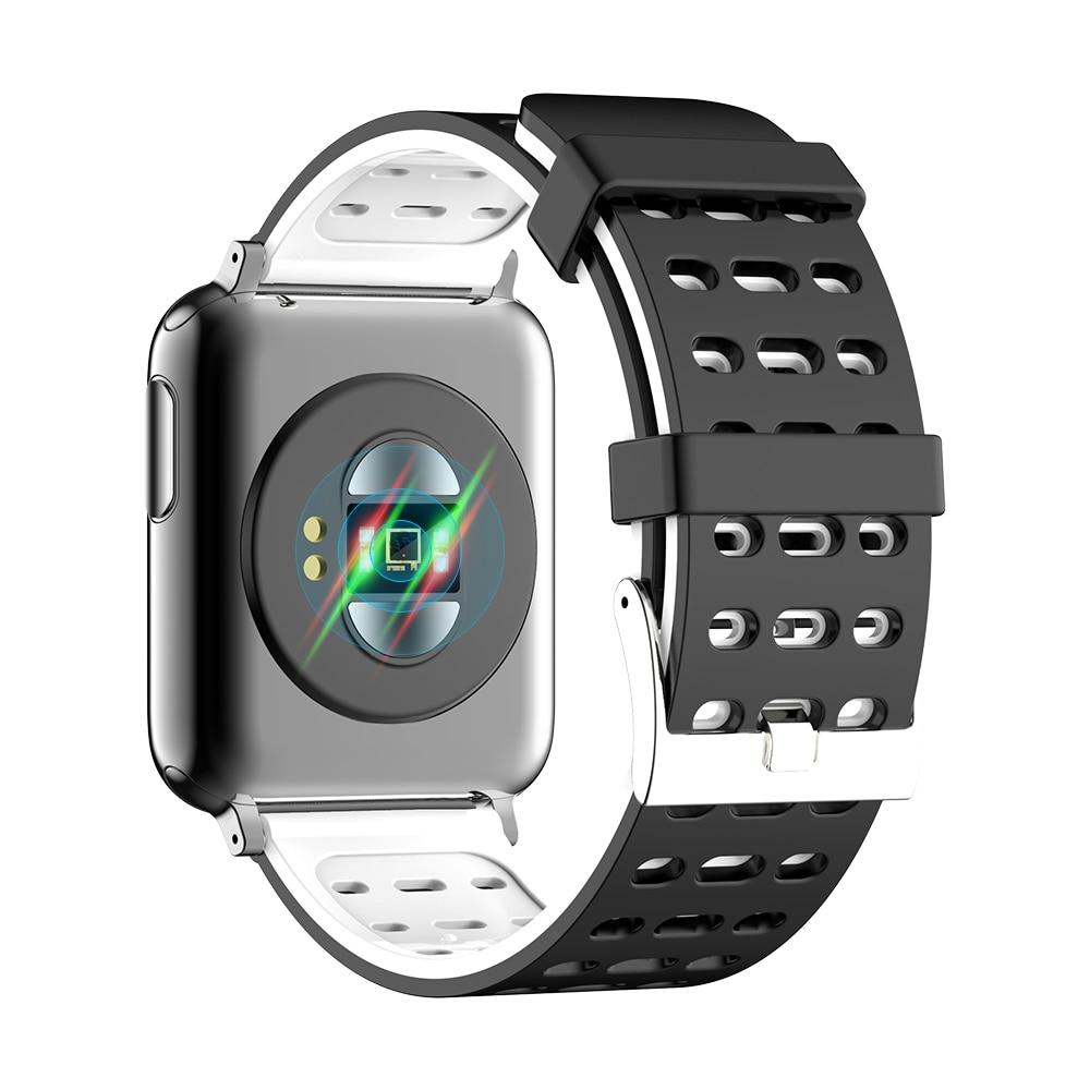KYCXD smartwatch ekg blutdruck herz rate blut sauerstoff überwachung sport armbänder wasserdichte fitness armband - 4