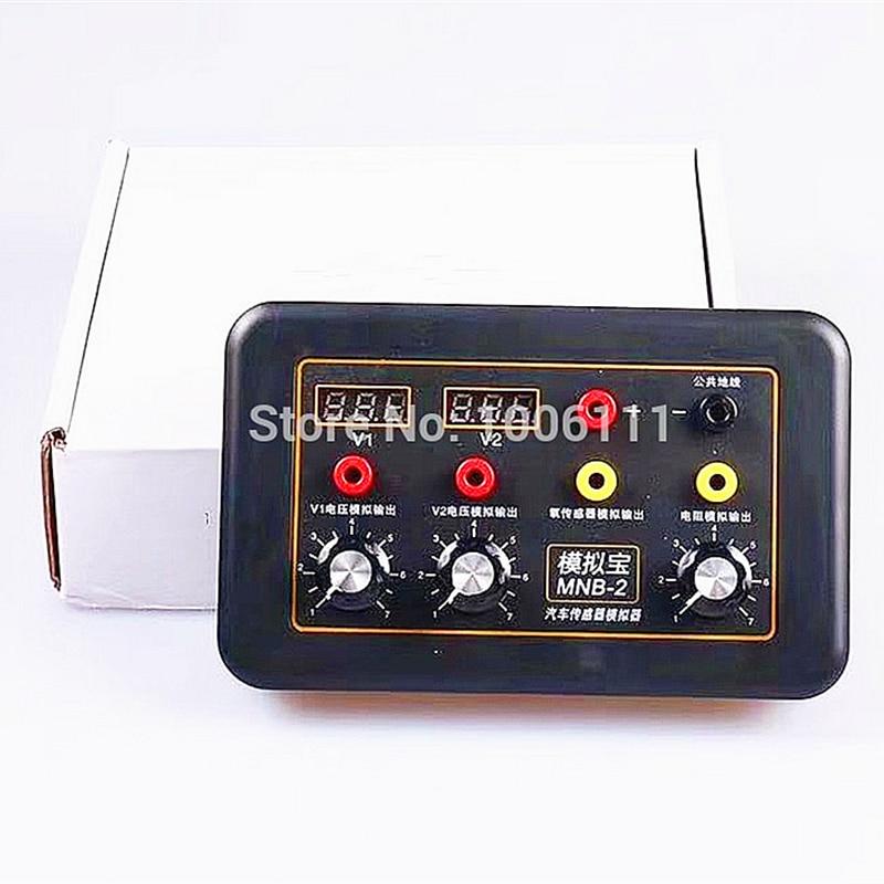 Automobile Vehicle Signal Generator Voltmeter MNB-2 Car ECU Tester Auto Sensor Signal Simulator Repair Tool