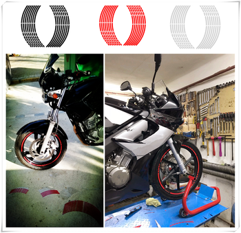Car tire styling motorcycle Accessories wheel reflective sticker for BMW K1600 GT GTL R1200GS R1200GS ADVENTURE R1200R image