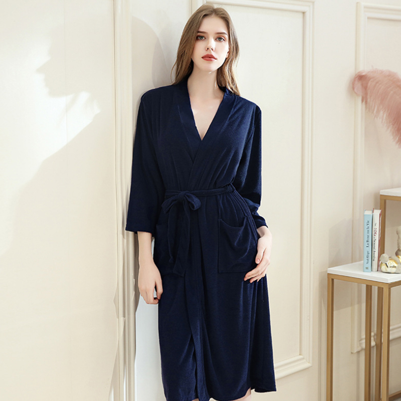 Women's Sleep Lounge Robes spring Nightgrowns Couple sexy lingerie Robe Bathrobe Male Female Dressing Gown Lounge Homewear