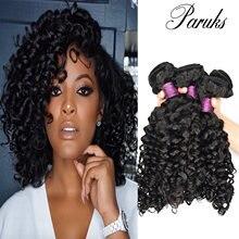 Paruks в итальянском стиле волнистые перуанские волосы пряди