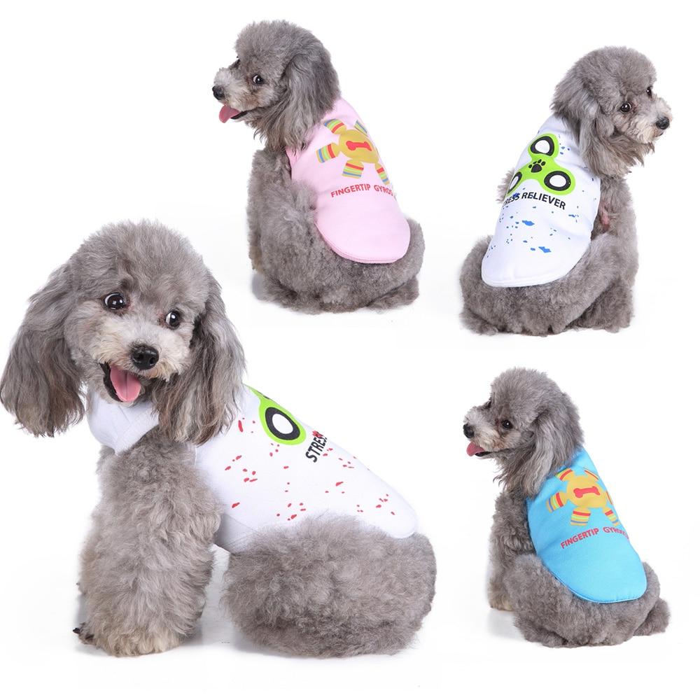 Dog dress Pet summer Skirt Fashion Solid Dress Puppy Vest Small Lovely Teddy Apparel D40