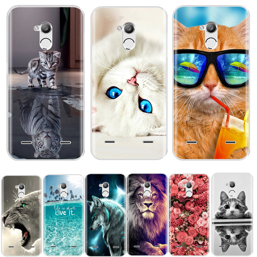 Case For Zte Blade V7 Lite 5.0 Inch Case Silicone Soft TPU Fashion Patterned Back Cover For Zte Blade V7 Lite Phone  Cases