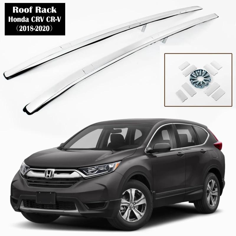 Aluminum Alloy Roof Rack For Honda Crv Cr V 2018 2020 Oem Style Rails Bar Luggage Carrier Bars Top Cross Bar Rack Rail Boxes Roof Racks Boxes Aliexpress