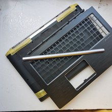 Yeni laptop için Acer V NITRO VN7 593G 54L3 Pro N16W3 YLI4600B20800 büyük harf coverpalmrest/alt kılıf kapağı/lcd menteşe kapak