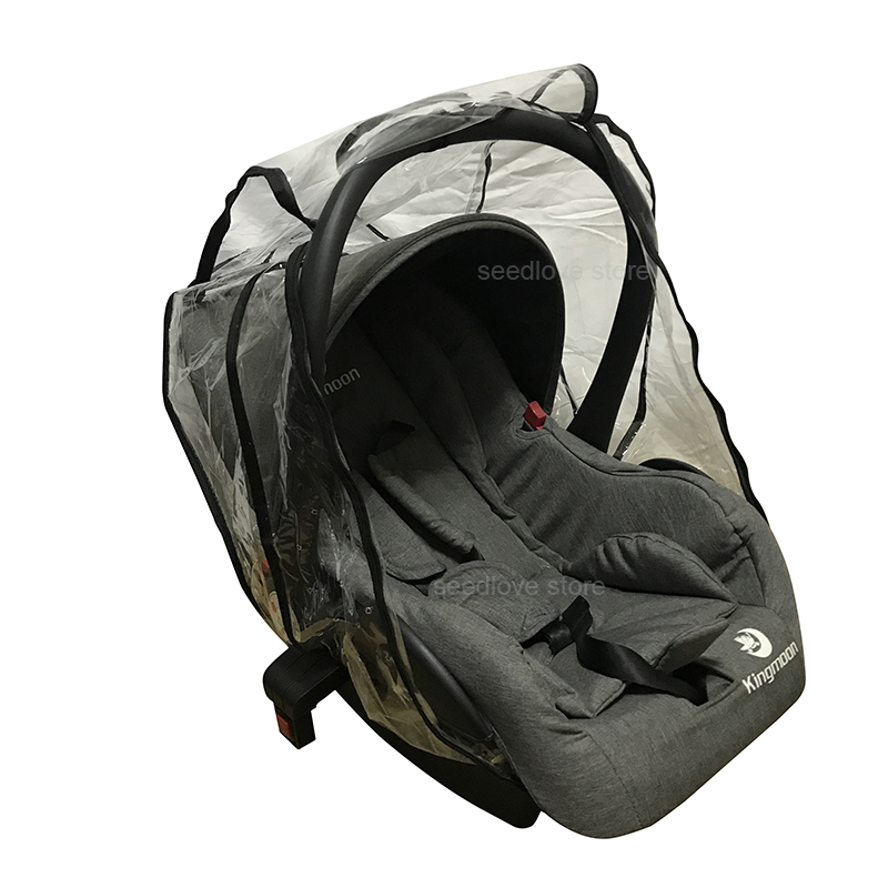 Чехол от дождя для детского автокресла, универсальный чехол для коляски, защита от пыли и микробов, пластиковые аксессуары для новорожденных 4