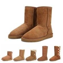 Australian Women Boots Girls Wool Snow Shoes Classic Boots B
