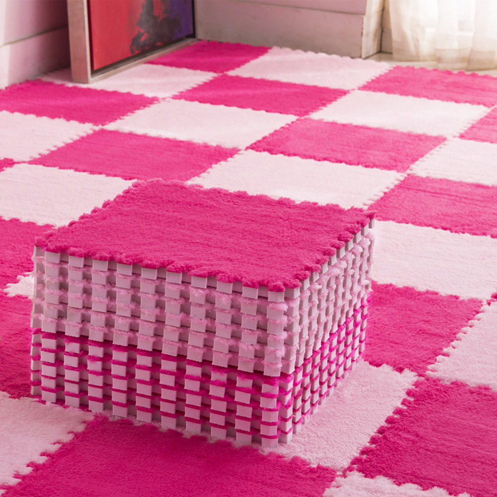 10Pcs/Lot Children's Mat Baby Toys Plush Baby Play Mat EVA Foam Developing Mat Puzzle Kids Soft Floor Rug Game Crawling Playmat
