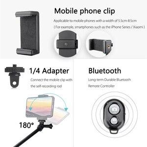 Image 4 - Vamson Mini Selfie statyw dla iPhone XR 8X7 6s Plus kijek do Selfie Bluetooth uchwyt do Selfie dla xiaomi dla Huawei VP425