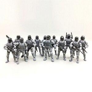 HALO mechguerrier anime figurine parfaite qualité PVC figurine soldat membres peut déplacer des jouets pour les enfants