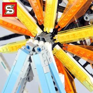 Image 4 - 모터 시티 관람차 창조주 streetview 모델 빌딩 블록 벽돌 장난감 선물 소녀 소년 적합 전문가 10247