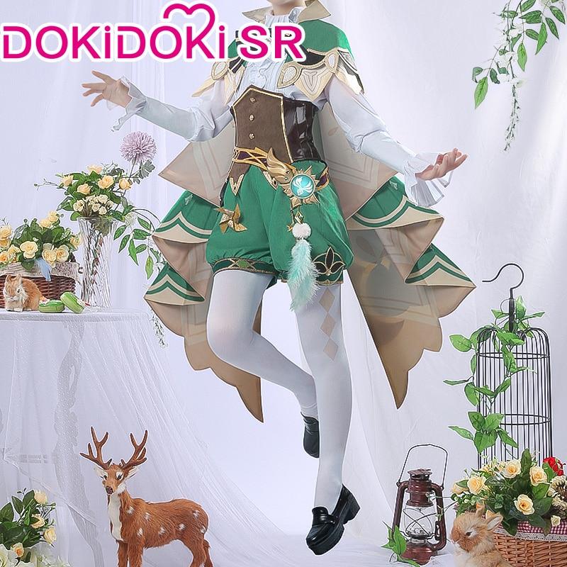 PRE-SALE dokidoki-sr jogo genshin impacto cosplay halloween venti cosplay genshin impacto venti cosplay