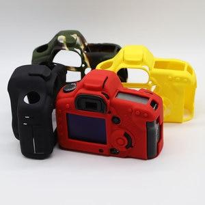 Image 2 - LimitX Silicone armure peau étui corps protecteur pour Canon EOS 5D Mark II 5D2 DSLR corps appareil photo seulement