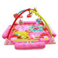 Classic Cartoon Pattern Baby Play Mat Educational Carpet Toy Baby Activity Gym Soft Portable Bed Games Blankets 130x130cm