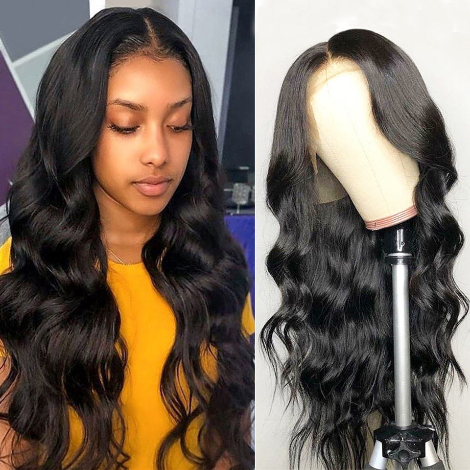 13x4 13x6 360 Lace Frontal Wig Pre Plucked Natural Hairline With Baby Hair Remy Brazilian Body Wave Lace Front Human Hair Wigs