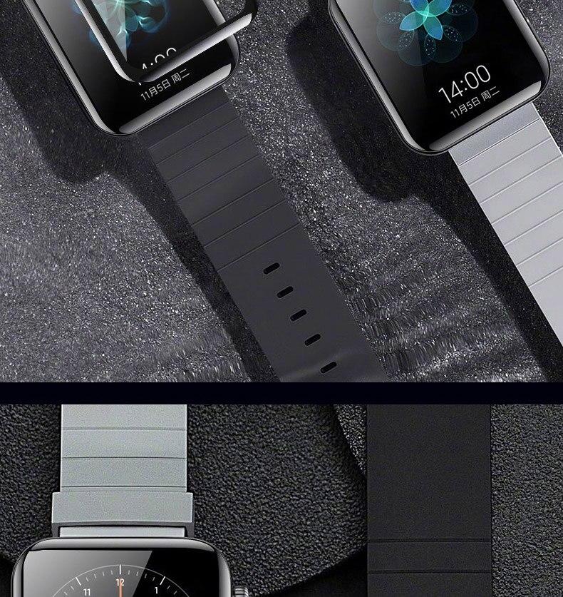 2 шт Защитная пленка для xiaomi smart watch пленка Взрывозащищенная/устойчивая к царапинам защита mi watch стекло(не закаленное стекло