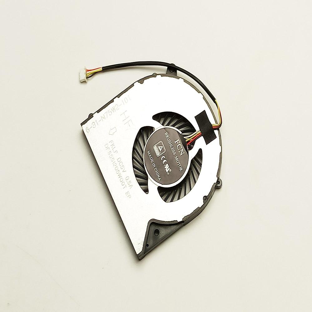 Новый ноутбук вентилятор процессора для Gigabyte P35W P35X P35XV4 два процессора вентилятор охлаждения