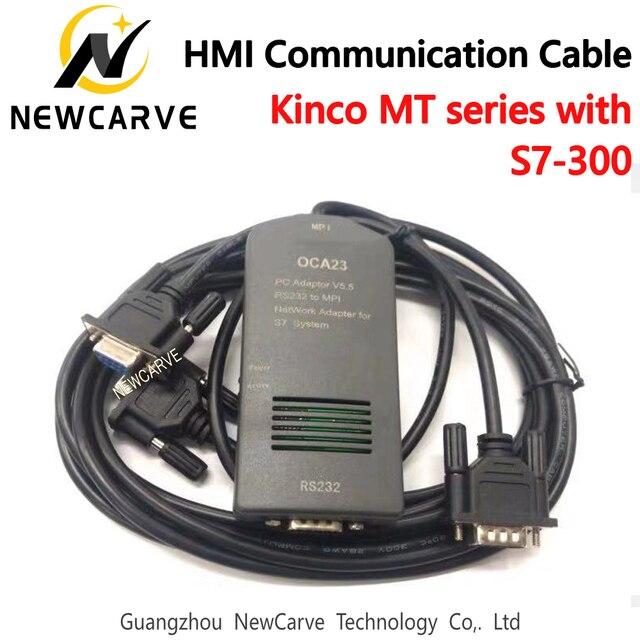 OCA23 HMI Touch Screen Kinco MT4000/5000 Compatible S7-300 Program Cable Connect The PLC To HMI NEWCARVE