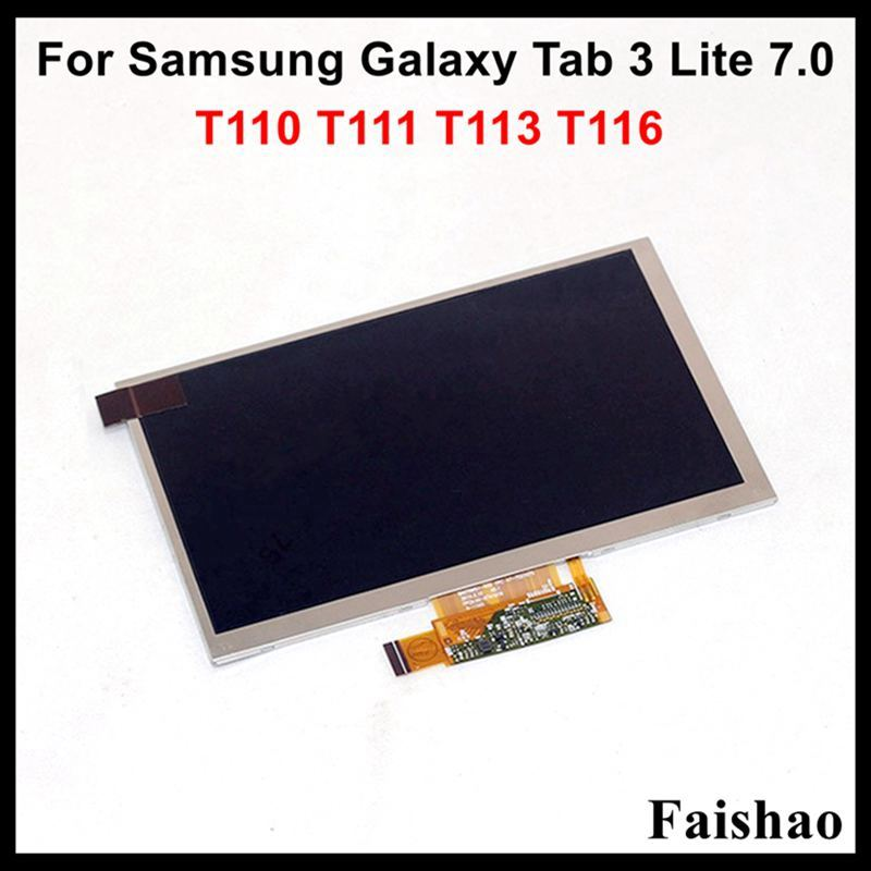 Brand New LCD Display Screen Panel For Samsung Galaxy Tab 3 Lite 7.0 SM-T110 T111 T113 T116 Replacement