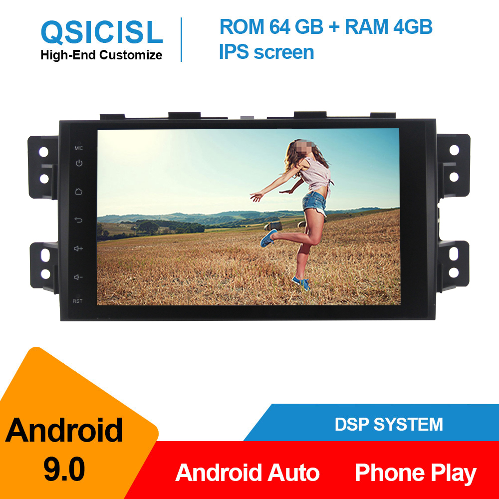 Android 9.0 Car Radio Multimedia Player For Kia Borrego Mohave Auto Radio Player 2 Din 9