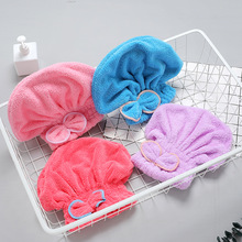 Microfiber Solid Quickly Dry Hair Hat Hair Turban Women Girls Ladies Cap Bathing Drying Towel Head Wrap Hat 1 pc hair drying cap lovely solid color quickly dry hair hat