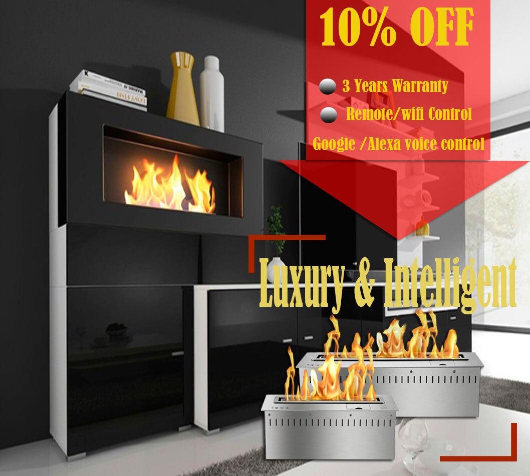 Inno-living Fire 36 Inch Bioethanol Burner Fireplace Burner
