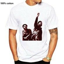 Gute Qualität Marke Baumwolle Hemd Sommer Stil Coole Shirts Fidel Castro Che Guevara Kuba Männer s Tribute T-shirt M09