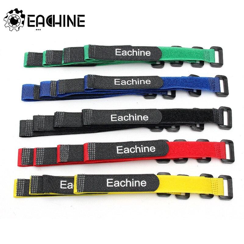 Оригинальный eachine, 10 шт., 26*2 см, прочный кабель для соединения батарей Lipo, цветной ремешок для радиоуправляемого вертолета, модели квадрокопт...