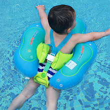 1Pcs Baby Swimming Pool Ring Inflatable Baby Ring Float Cute Cartoon Baby Bath Circle Ring Water Toys for Kids Swim Pool
