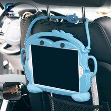 """Чехол CHINFAI для Xiao mi Pad 4 Plus 10,1, детский Силиконовый противоударный моющийся чехол-подставка для планшета mi Pad4 Plus 10,"""" с ремешком"""