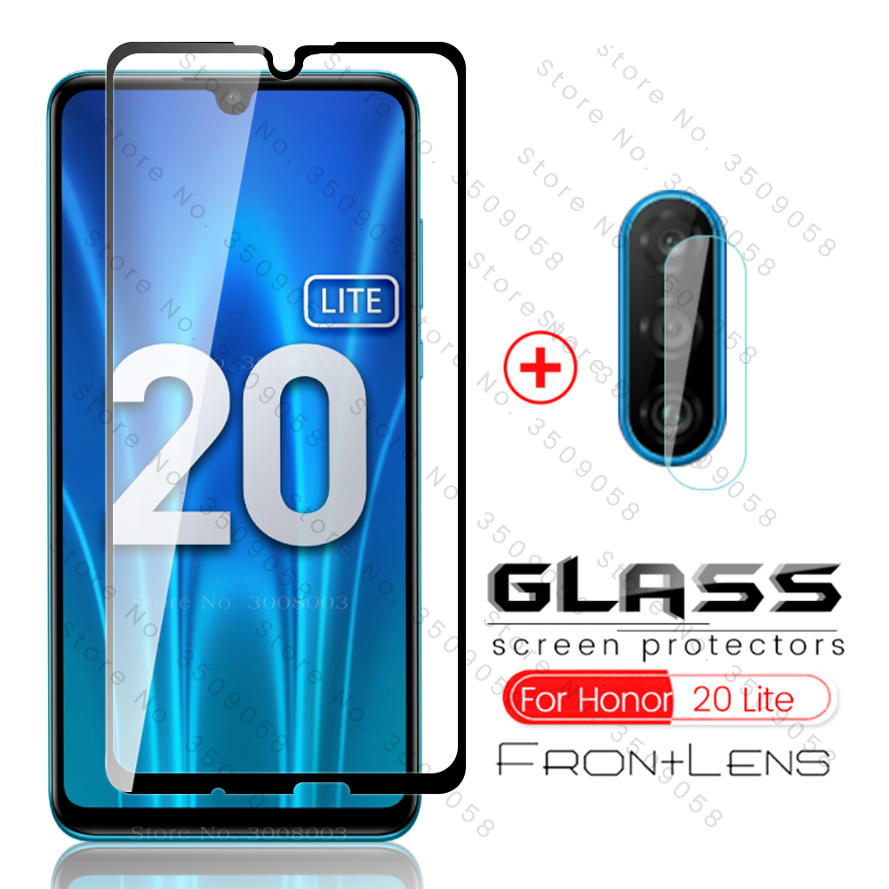 стекло Honor 20 Lite 2020 Glass 2-in-1 Camera Protective Glass For Huawei Honor 20lite Light Mar-lx1h 6.15'' Russia Version Film