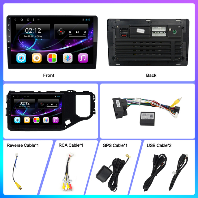 OKNAVI 2 Din Android 9.0 Car Radio GPS Navigation Stereo Multimedia Player For Chery Tiggo 4X 5X 2019 Stero  Head Unit No DVD