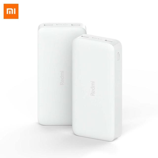 Yeni Xiaomi Redmi güç bankası 20000mAh taşınabilir şarj cihazı güç kaynağı çift USB USB C iki yönlü hızlı şarj harici pil