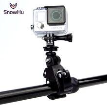 SnowHu per accessori Gopro bici moto bicicletta manubrio manubrio adattatore per treppiede per videocamera Gopro Hero 9 8 7 6GP73