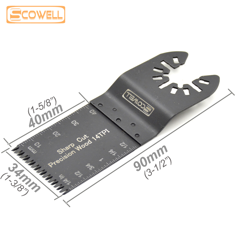 30% OFF 34MM Japanese E Type Teeth Oscillating Multi Tool Saw Blades Quick Release Saw Blades For Cuting Wood Free Shipping
