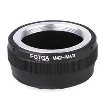 Anello adattatore Fotga originale per obiettivo M42 a obiettivo Micro 4/3 adattatore obiettivo fotocamera per fotocamere Olympus DSLR