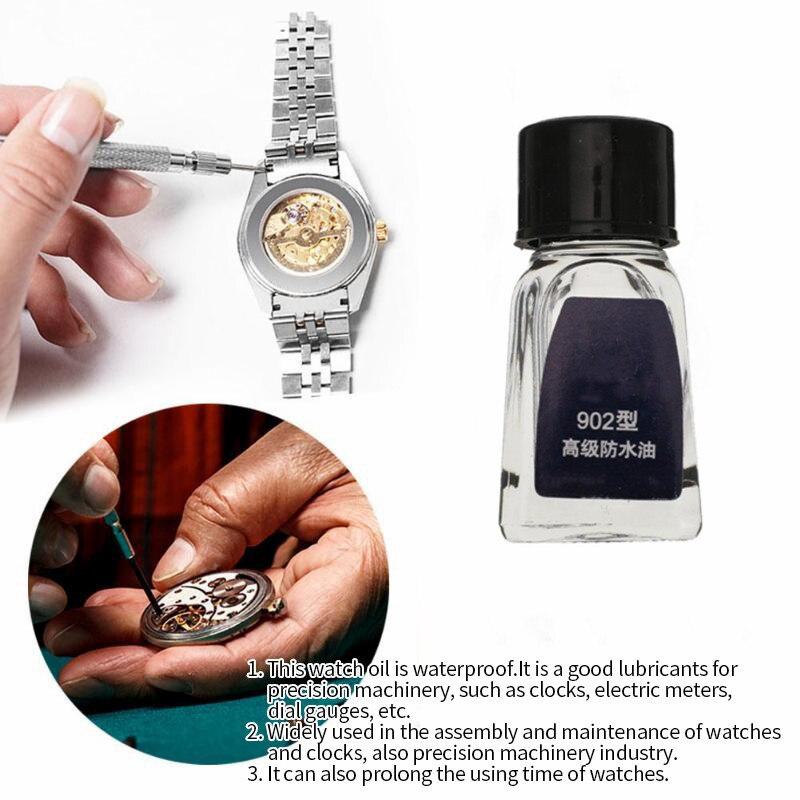 Professional Clock Oil Watch Repair Tools 5ml Waterproof 902 Watch Oil Maintenance Lubricant Watchmaker Watch Accessories