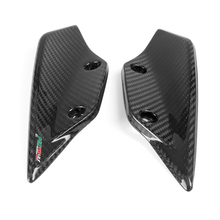 for BMW S1000RR HP4 Carbon Fiber Front Fender Spoiler Winglets 2012 2013 2014 Motorcycle Fairing carbon fiber rear trunk wings m4 spoiler for bmw 4 series f36 420i 428i 435i gran coupe 4 door 2013 gloss black spoiler wing