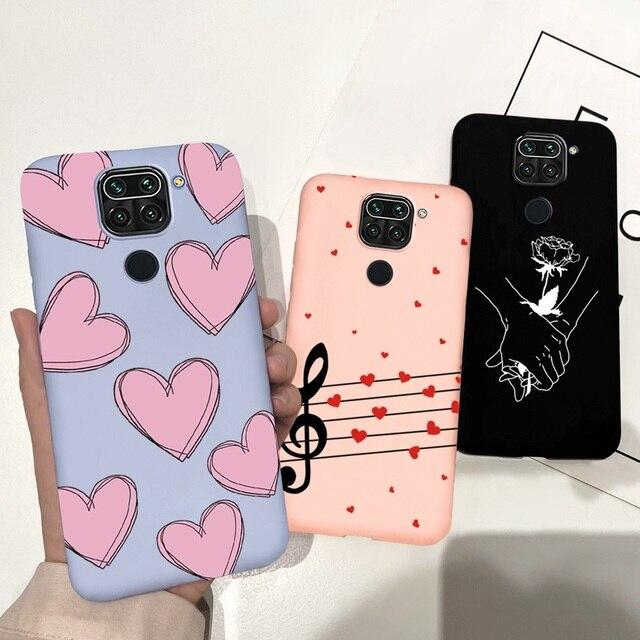 For Redmi Note 9 Case Soft TPU Cartoon Pattern Silicon Cover Phone Cases For Xiaomi Redmi Note 9 Note9 Note 9 Pro Max 9Pro Funda 4