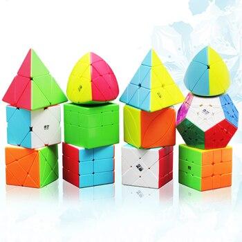Professional Magic Speed Cube Mirror Cubo Educational Learning Toys Megaminx SQ1 3X3X3 Cube For Children Speed Magic Cube yongjun diamond symbol 3x3x3 magic cube yj 3x3 professional neo speed puzzle antistress fidget educational toys for children