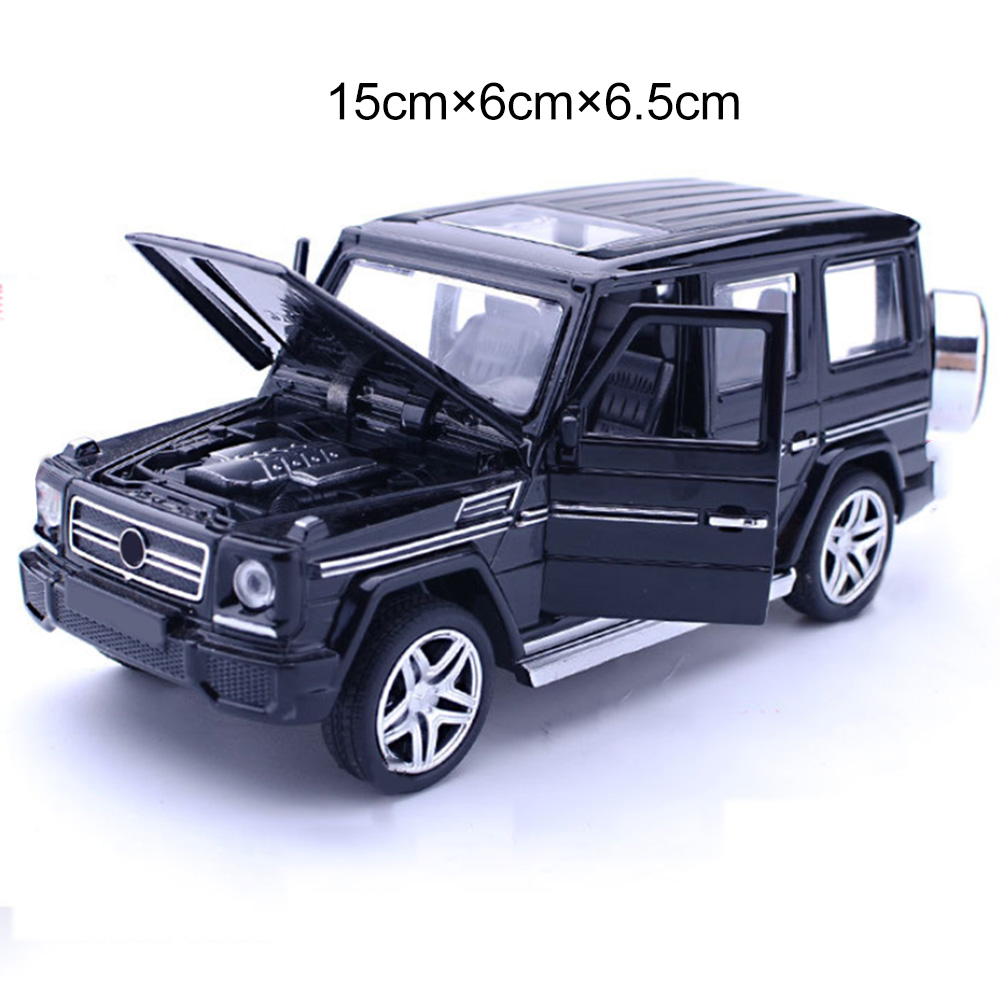 2019 Original 1:32 Alloy Pull Back Model Car Model Toy Sound Light Pull Back Toy Car For G65 Suv Amg Toys For Boys Children Gift