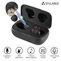 Беспроводная TWS-гарнитура SYLLABLE S115 с сильными басами, шумоподавление, чип SYLLABLE S115, Беспроводные спортивные наушники
