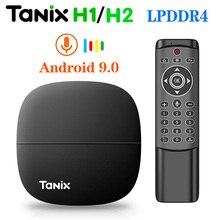 Tanix H1 H2 TV Box Android 9 9.0 TVbox 2G/16G 1G/8G LPDDR4 H