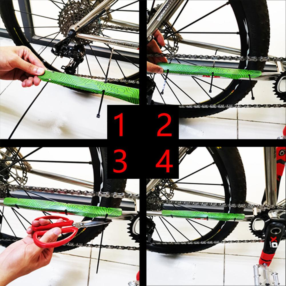 PLASTIC CHAINSTAY UK SELLER ROAD MTB BIKE BICYCLE CYCLE CHAIN GUARD PROTECTOR