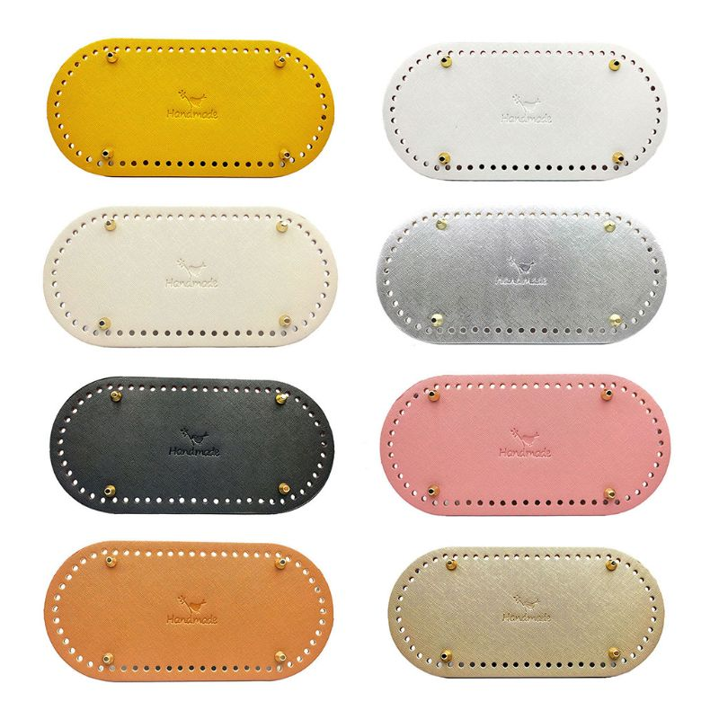 1 Pc DIY Knitting Crochet Bag Nail Bottom Shaper Pad Insert Cushion Base For Handbag Purse Replacement Making Parts Accessories