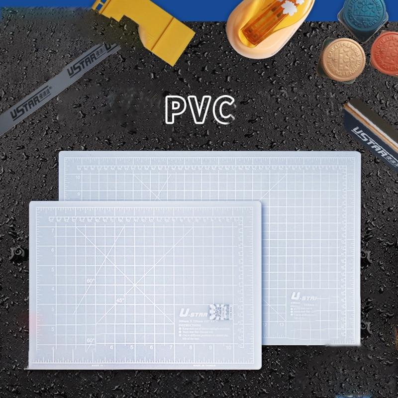 A4 / A3 Iceberg Ash Cutting Mat Diy Manual Grid Line Self-healing Cutting Pad Craft Card Leather Self-healing Cutting Board