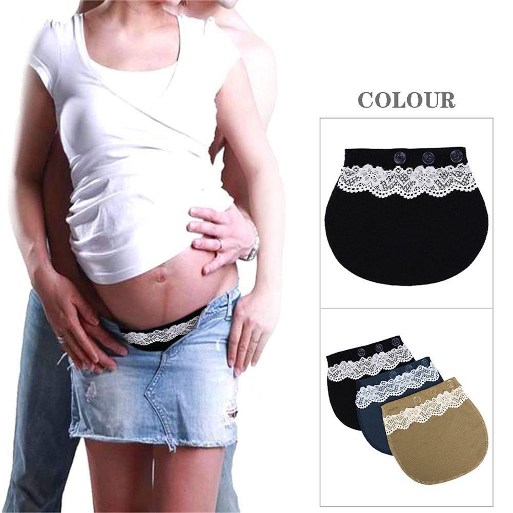5 Maternity Pregnancy Waistband Belt Adjustable Elastic Waist Extenders Pant Sfhs Org