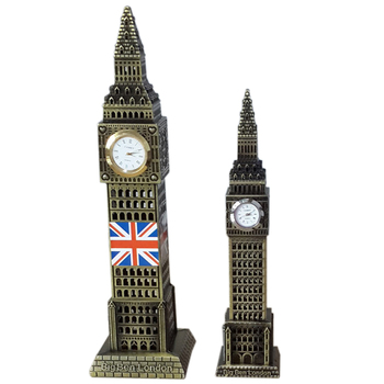 Factory direct British Big Ben home furnishings crafts large bass European-style Big Ben for the home bedroom
