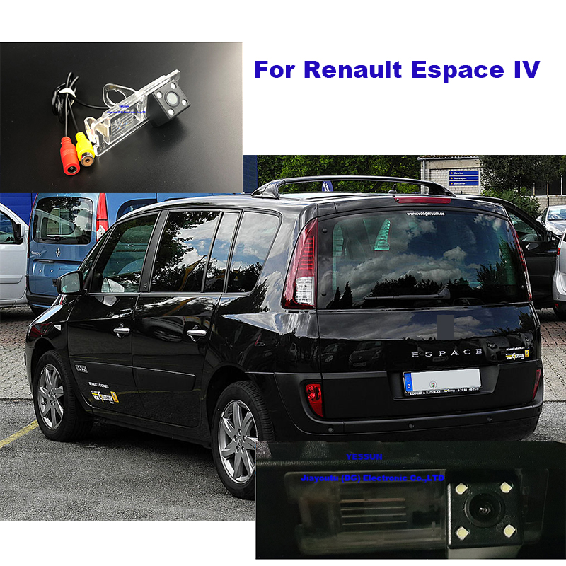 Yessun Car Rear View Camera HD Night Vision Reverse Camera IP67 DC 12V For Renault Espace IV